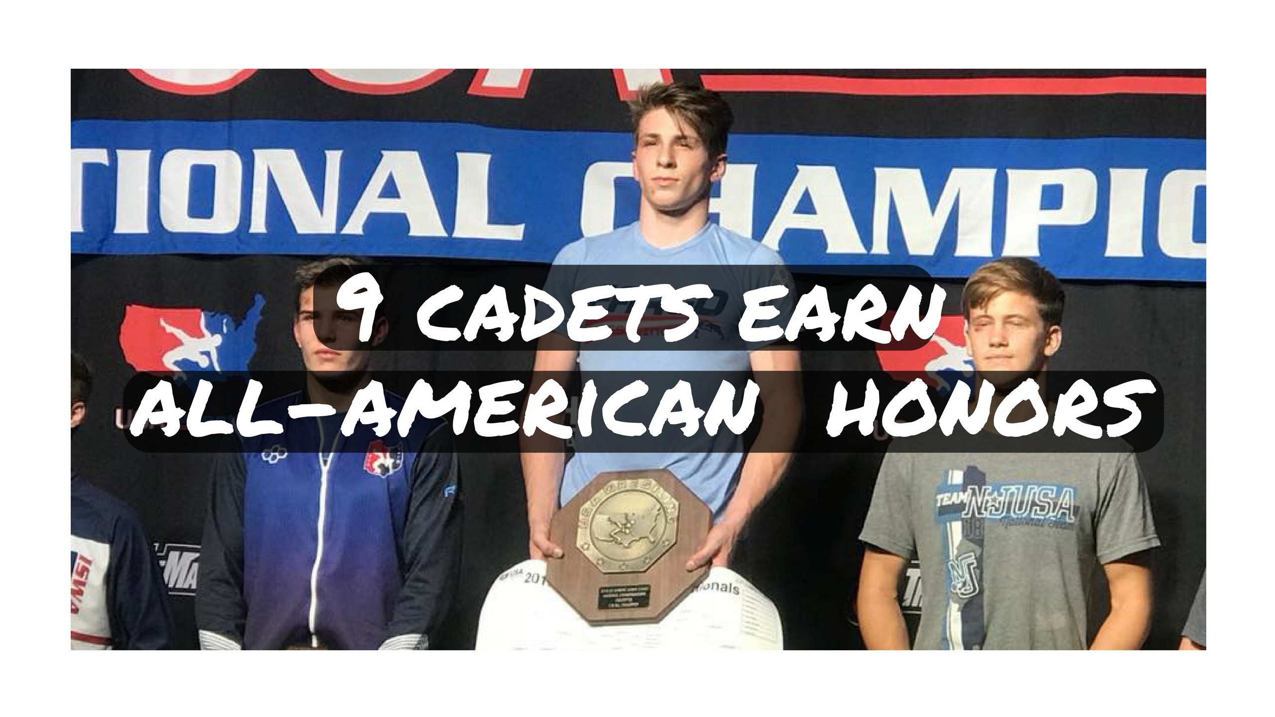 9 cadets earn all-american honors